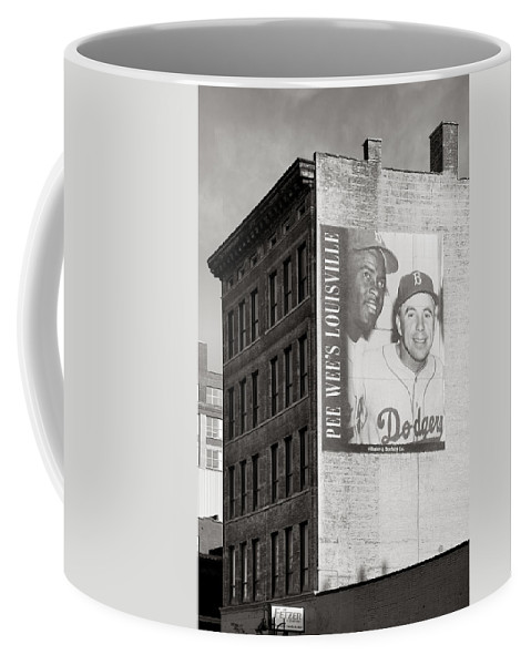 Baseball Coffee Mug featuring the photograph Those Were The Days by Steven Ainsworth