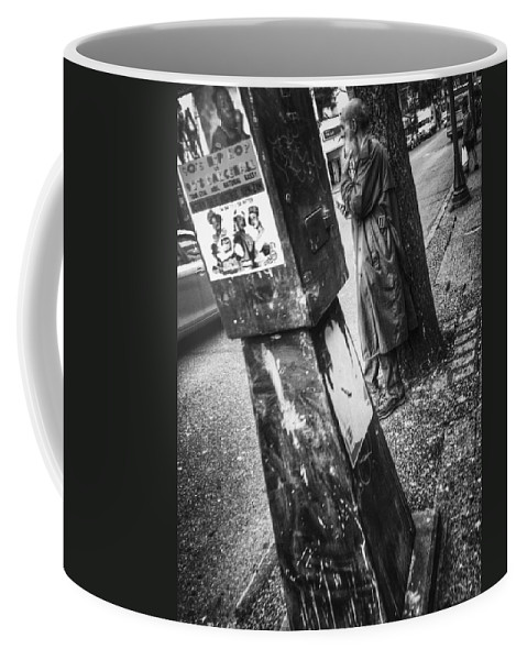 Street Coffee Mug featuring the photograph Thoughtful In Count by The Artist Project