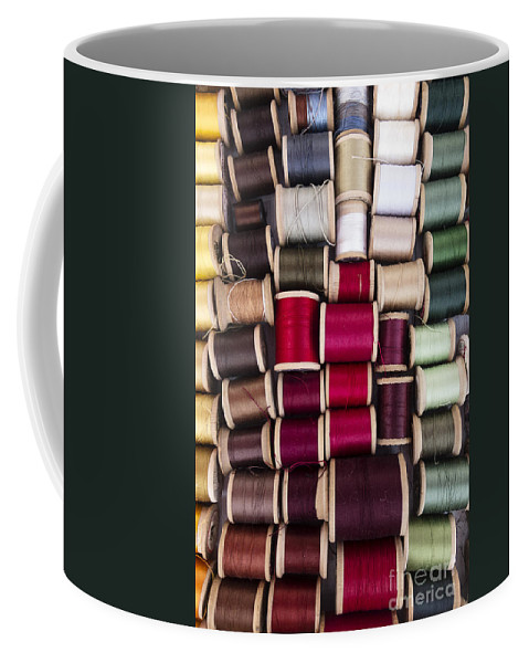 Thread Coffee Mug featuring the photograph Threads I by Margie Hurwich