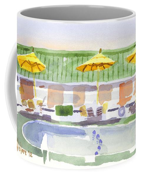 Three Amigos Ii Coffee Mug featuring the painting Three Amigos II by Kip DeVore