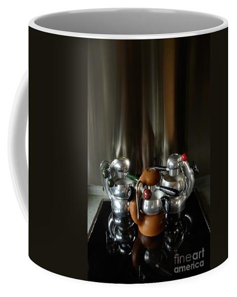 Atomic Coffee Mug featuring the photograph Three Atomic 1 by Frank Kletschkus