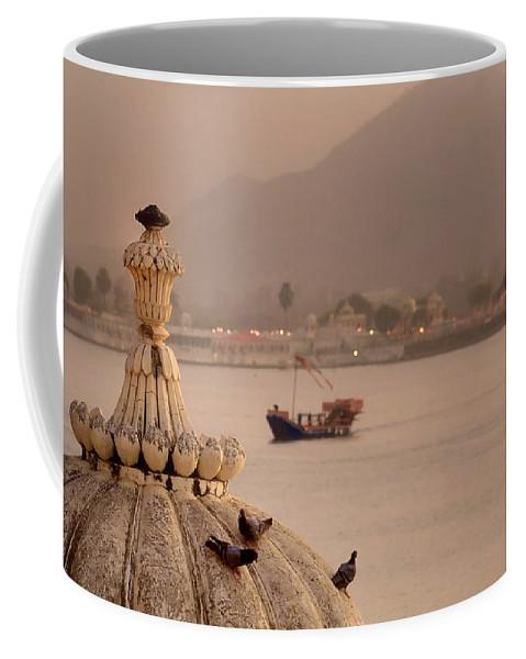 Areyarey Coffee Mug featuring the photograph Three Little Birds.. by A Rey