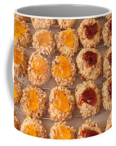 Cookies Coffee Mug featuring the photograph Thumb Prints by Ronald Grogan
