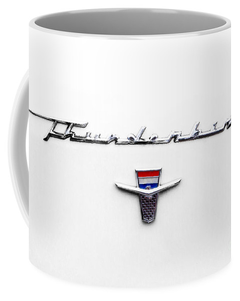 1962 Coffee Mug featuring the photograph Thunderbird Tag by Jerry Fornarotto