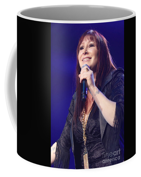Pictures For Sale Coffee Mug featuring the photograph Singer Tiffany by Concert Photos