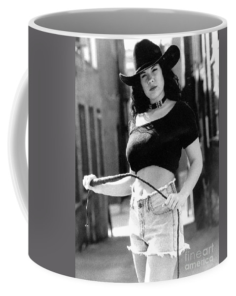 Model Coffee Mug featuring the photograph Tiffany Whip by Gary Gingrich Galleries