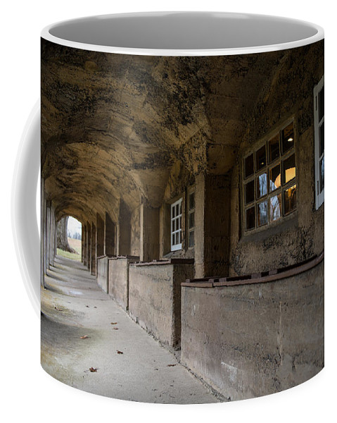 Arches Coffee Mug featuring the photograph Tile Works by Scott Hafer
