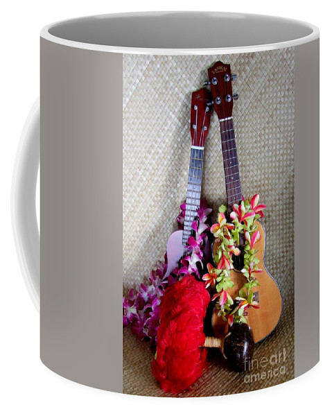Mary Deal Coffee Mug featuring the photograph Time For Hula by Mary Deal