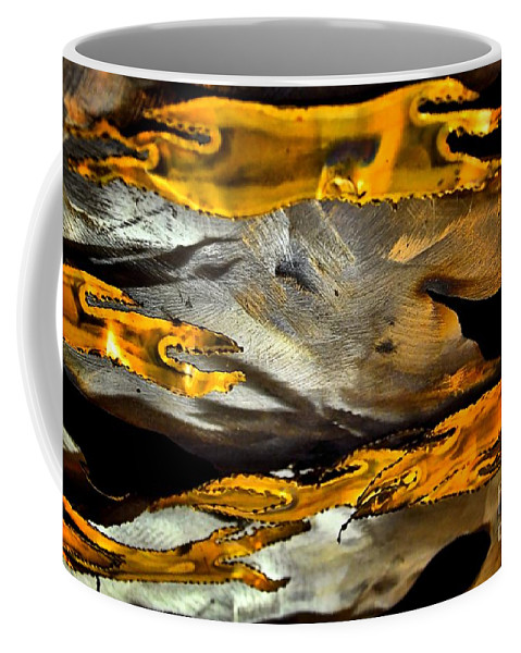 Abstract Coffee Mug featuring the photograph Time Passages by Lauren Leigh Hunter Fine Art Photography