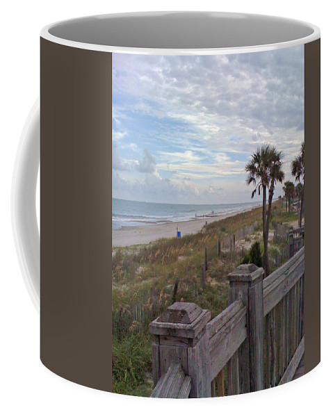 Myrtle Coffee Mug featuring the photograph Time To Get Away by Tom Gari Gallery-Three-Photography