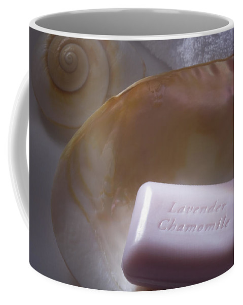 Soap Coffee Mug featuring the photograph Time To Relax by Diane Macdonald