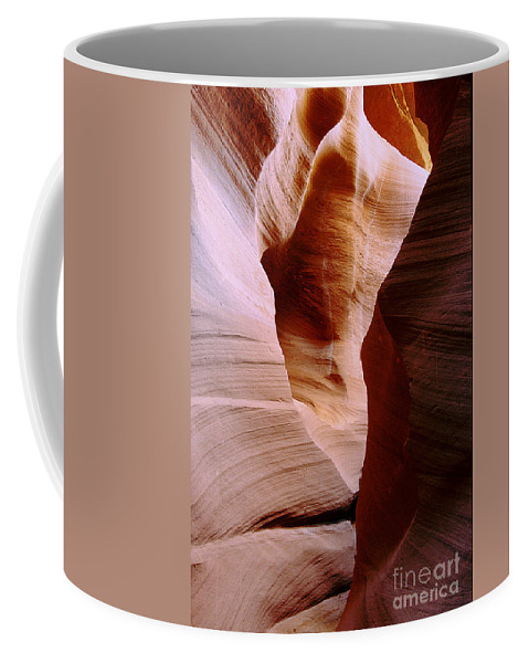 Antelope Canyon Coffee Mug featuring the photograph Timeless by Kathy McClure
