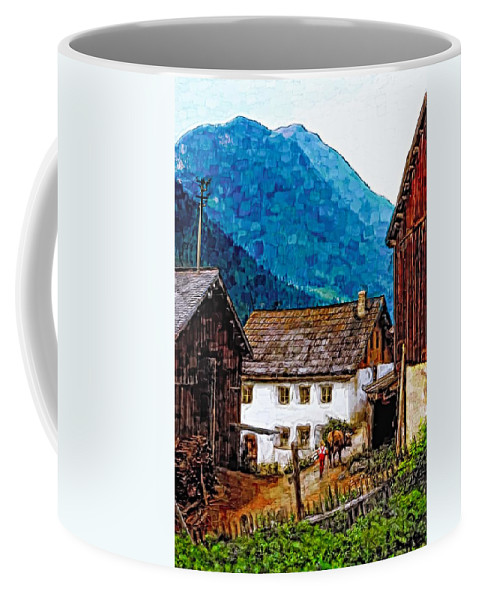 Austria Coffee Mug featuring the photograph Timeless Watercolor by Steve Harrington