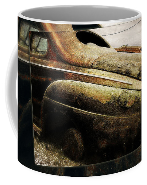 Cars Coffee Mug featuring the photograph Timelines by John Anderson