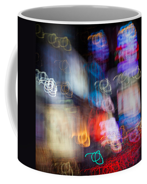 Times Square Coffee Mug featuring the photograph Times Square by Dave Bowman