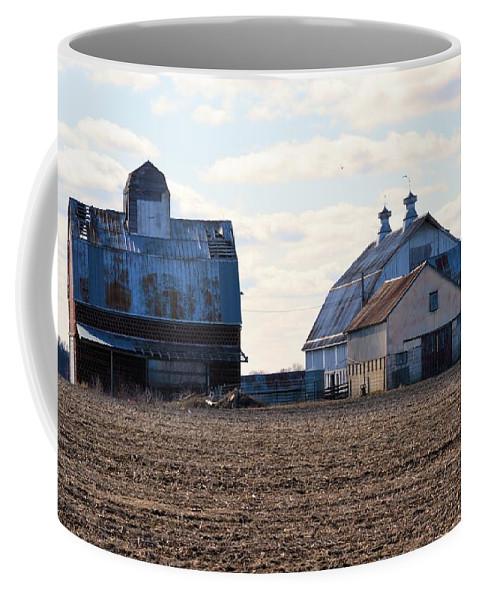 Farm Coffee Mug featuring the photograph Tin Roof Farm by Bonfire Photography