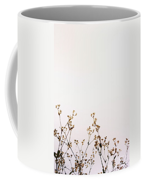 Pink Coffee Mug featuring the photograph Tiny Flowers by Margie Hurwich
