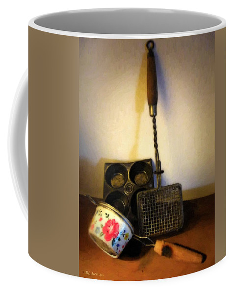 Still Life Coffee Mug featuring the painting Tiny Tools by RC DeWinter