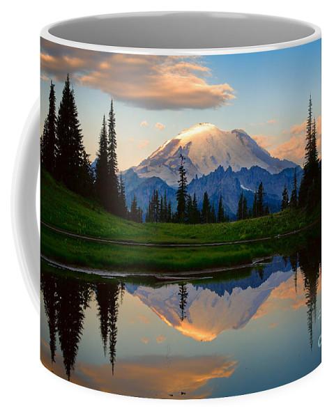 America Coffee Mug featuring the photograph Tipsoo Magic by Inge Johnsson