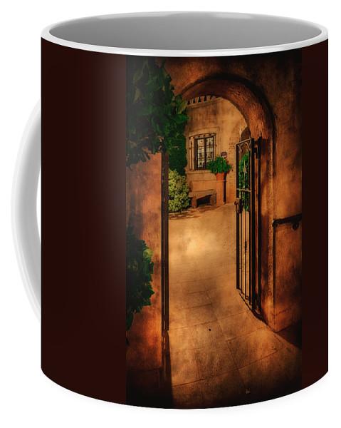 Tlaquepaque Coffee Mug featuring the photograph Tlaquepaque by Priscilla Burgers