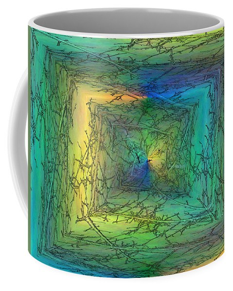Trees Coffee Mug featuring the digital art To The Treetops by Tim Allen