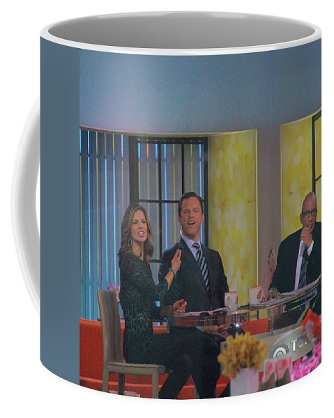 Today Show Cast Coffee Mug featuring the photograph Today Show Cast by Dan Sproul
