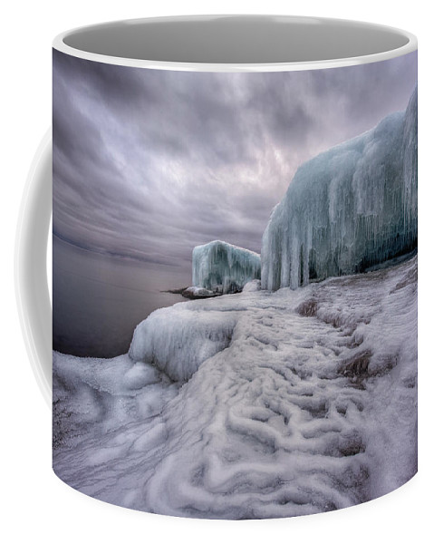 Blue Hour Coffee Mug featuring the photograph Tofte Oce Formations by Jakub Sisak
