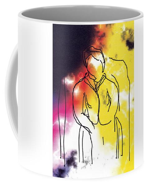Together Coffee Mug featuring the digital art Together by Bjorn Sjogren