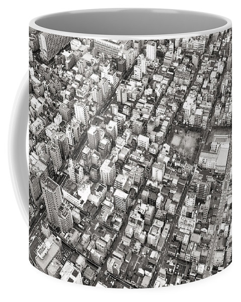 Skytree Coffee Mug featuring the photograph Tokyo City by For Ninety One Days