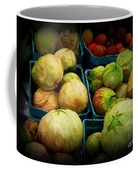 Tomatillos Coffee Mug featuring the photograph Tomatillos by Miriam Danar
