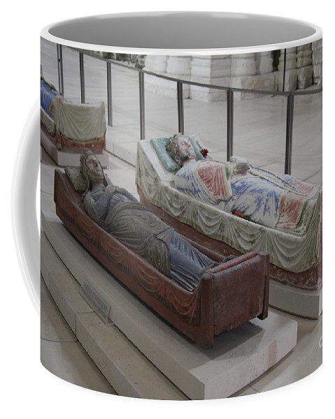 Tomb Coffee Mug featuring the photograph Tomb Of Richard I Of England Fontevraud Abbey by Christiane Schulze Art And Photography