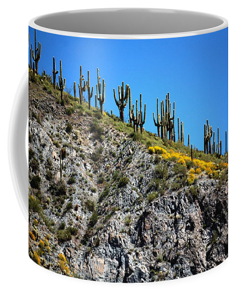 National Coffee Mug featuring the photograph Tonto Ridge 16112 2 by Jerry Sodorff