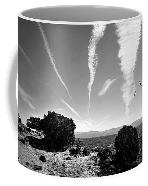 Landscape Coffee Mug featuring the photograph Top Of White Rock Mountain by Diana Angstadt
