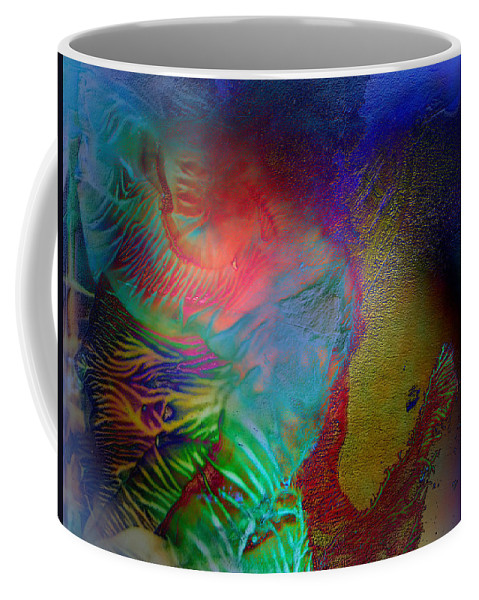 Surrealism Coffee Mug featuring the digital art Topology Of Decalcomania by Otto Rapp