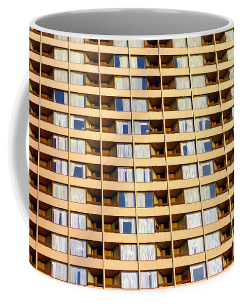 Building Coffee Mug featuring the photograph Toronto Apartment Building by Valentino Visentini
