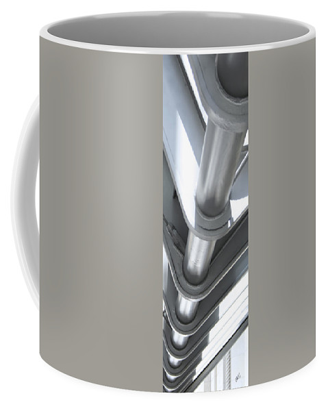 Architectural Detail Coffee Mug featuring the photograph Toronto Silhouettes IIi by Ben and Raisa Gertsberg
