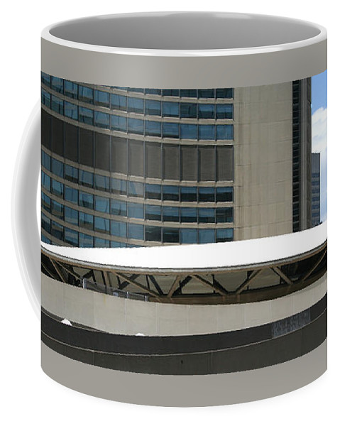 Architectural Detail Coffee Mug featuring the photograph Toronto Silhouettes V by Ben and Raisa Gertsberg