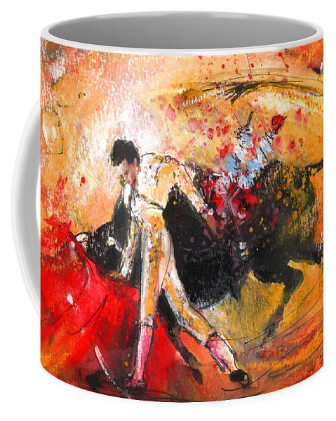Animals Coffee Mug featuring the painting Toroscape 58 by Miki De Goodaboom
