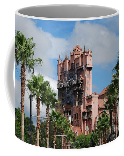 Disney Coffee Mug featuring the photograph Tower of Terror by Eric Liller
