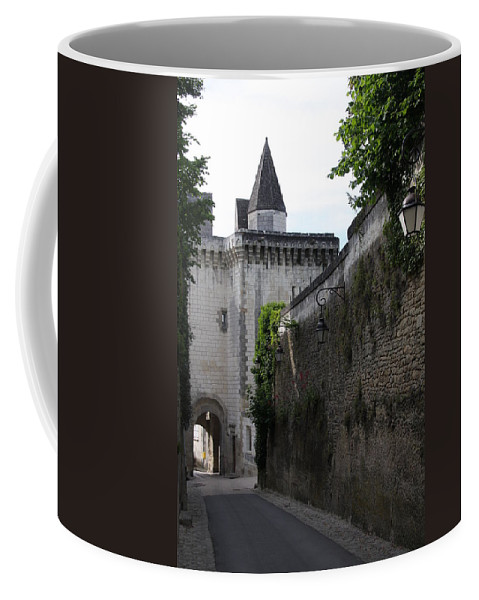 Town Gate Coffee Mug featuring the photograph Town Gate - Loches - France by Christiane Schulze Art And Photography