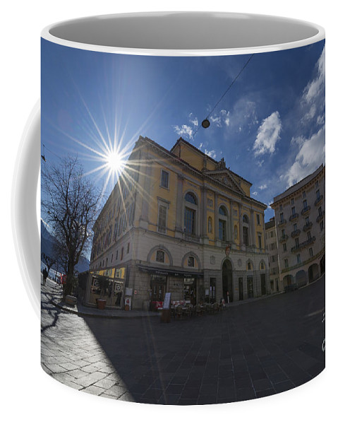 Town Hall Coffee Mug featuring the photograph Town Hall by Mats Silvan