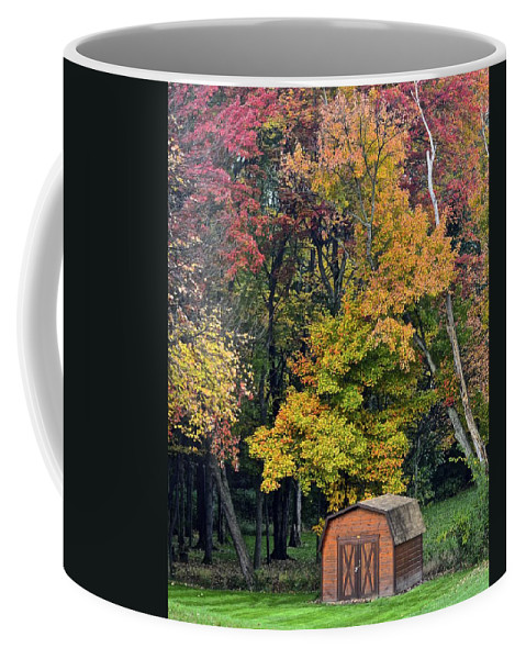 Amish Coffee Mug featuring the photograph Toy Chest by Frozen in Time Fine Art Photography