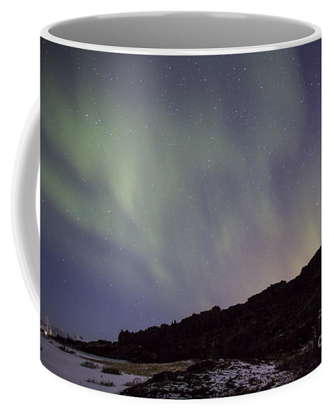 Thingvellir Coffee Mug featuring the photograph Traces Of Dreams by Evelina Kremsdorf
