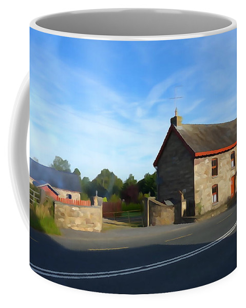 Stone Coffee Mug featuring the photograph Traditionally Irish by Charlie and Norma Brock
