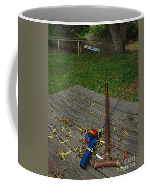 Angling Coffee Mug featuring the photograph Traditions Of Yesterday by Peter Piatt