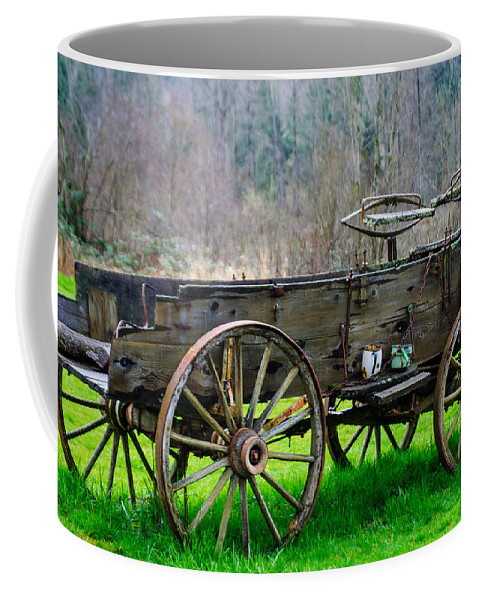 Trailer Coffee Mug featuring the photograph Trailer For Sale Or Rent Unframed by Tikvah's Hope