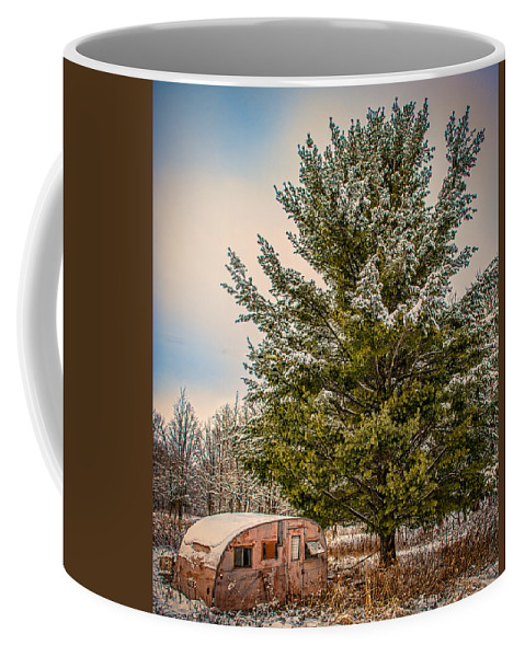 Trailer Coffee Mug featuring the photograph Trailer Trash by Paul Freidlund