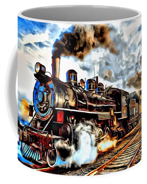 Train Coffee Mug featuring the photograph Train II by Carlos Diaz