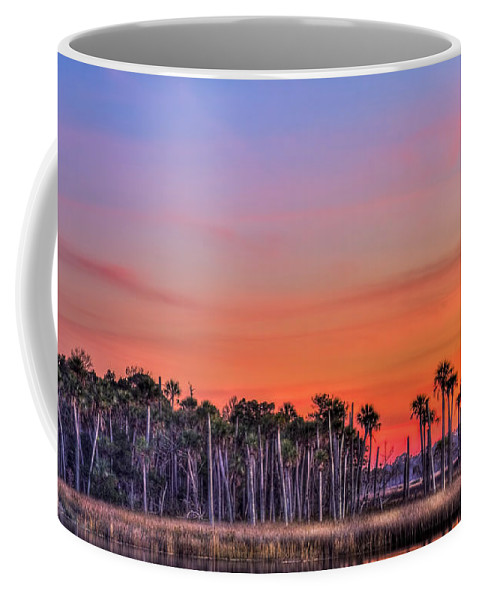 Tranquil Hammock Coffee Mug featuring the photograph Tranquil Hammock by Marvin Spates