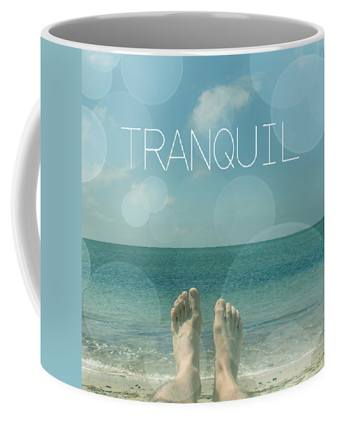 Relaxing Coffee Mug featuring the photograph Tranquil by Mark Ashkenazi